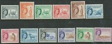 SOMALILAND PROTECTORATE 1953 QE11 SET MINT HINGED FRESH LOOKING CAT GB£140.00