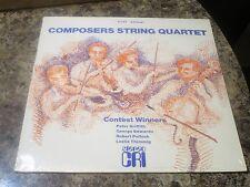 First Annual Compositeurs Corde Quartet Contest Winners~ CRI SD 265 scellé