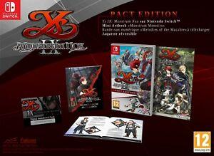 Ys IX: Monstrum Nox - Pact Edition (Nintendo Switch) BRAND NEW & SEALED UK