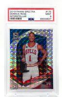 Derrick Rose 2019-20 Panini Spectra Interstellar #175 /49 PSA 9 SP Bulls MVP