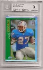 EDDIE GEORGE 1997 TOPPS CHROME REFRACTOR BECKETT MINT GRADED BGS 9-OILERS RB