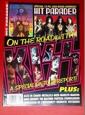 Kiss 1996 Oct Hit Parader Magazine Gene Simmons Hologram Cover