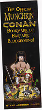The Official Munchkin Conan Bookmark of Barbaric Bludgeoning! Pathfinder Promo