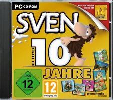 SVEN - Die ersten 10 Jahre - 7 Vollversionen in einer Box (PC) - NEU & SOFORT