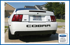 Ford Mustang COBRA Rear Bumper Valence letter decal sticker 2003 2004 inserts