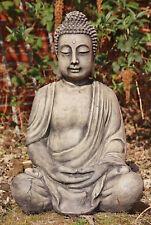 BUDDHA SKULPTUR STEINGUSS für TEICH FROSTFEST FIGUR FIGUREN NEU BUDDHAS 4014a