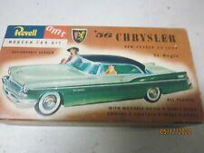 VINTAGE 1 32 BOX ONLY REVELLE 1950''S CHRYSLER BOX JUNKYARD PARTS LOT