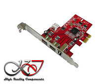 Gamme Pro - Carte MAO PCIe Firewire 400 + 800 - CHIPSET TI - low high profile