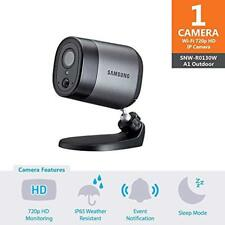 Samsung SmartCam A1 Outdoor 720p Wireless Battery Powered Camera SNW-R0130BW