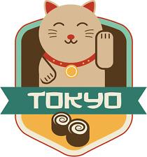 "Tokyo Japan World City Travel Label Badge Car Bumper Sticker Decal 5"" x 5"""