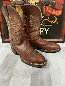 Justin Cowboy Boots Brand New UK Size 11
