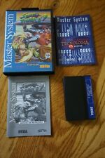Street Fighter II 2 (Sega Master System SMS) Complete in Box TEC TOY