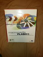 Macromedia Flash 5 Education Full Version Windows 95 98 Compatible Open BoxAs Is