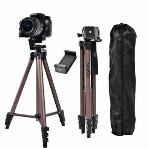 Aluminum Alloy Mini Camera Tripod Stand With Phone Holder For Canon Nikon Sony