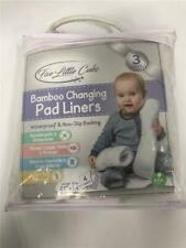"Five Little Cubs [3 Pack] Bamboo Changing Pad Liners Large 27"" x14"""