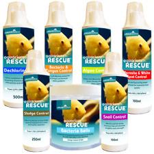 Aquarium Rescue Tap Dechlorinator / Greenwater / Bacteria / Fish Water Treatment