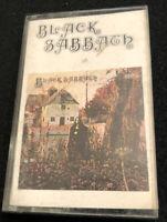 Black Sabbath Paper Label Cassette Tape NEC 6002 Vintage Ozzy Metal