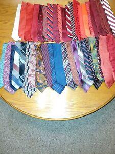 Lot Of (40) Neckties- Hermes, Trump, Ghezzi, Murano, etc....