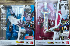 Beerus & Whis Authentic SH Figuarts Dragon Ball Z Super Lot Rare Complete Used