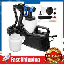 Paint Sprayer,600W High Power HVLP Electric Spray Gun 3 Adjustable Spray Pattern