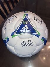 Adidas Mls 2012/2013 Prime Soccer Match Ball Replica Size 5 Autographed