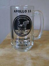 Federal Milk Glass Caneca Apollo 11 Nasa Coleção Neil Armstrong 1969