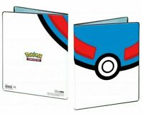 GREAT BALL POKEMON ULTRA PRO A4 ALBUM FOLDER PORTFOLIO 9 POCKET