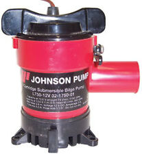 New Johnson Submersible Bilge Pump L750 1150gph 12 volt 32-1750-01 BLA 131814