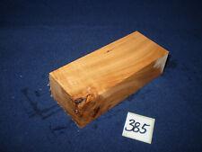 Kirsche Kirschholz Messergriff  Messergriffblock 120 x 45 x 31 mm  Nr. 385