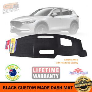 Black Dash Mat for Mazda CX-5 KF Akera with HUD 1/2021-2022 CX5 i-ACTIV DM1598D