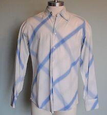 Vintage Guess Men's Plaid Button Down Long Sleeved Shirt Size Large