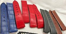 NEW AUTHENTIC JORG HYSEK BAND WATCH Black Blue Brown Red Crocodile Band