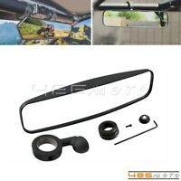 """Center Wide Rear View Mirror 1.75"""" Roll Cage Bar For Polaris RZR 800 UTV Offroad"""