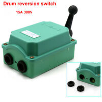 15A 380V Rain Proof Reversing Drum Switch High Current Switching