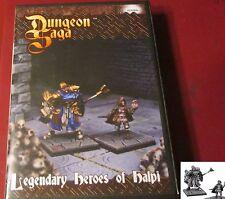 Dungeon Saga MGDS24 Legendary Heroes of Halpi (2) Miniatures Paladin Halfling