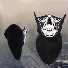 Half Face Sport Mask Outdoor Bike Motorcycle Snowboard Ski Ghost Skull Winter