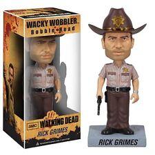 Walking Dead Rick Grimes Sheriff BOBBLEHEAD ACTION FIGURE WACKY WOBBLER NEW
