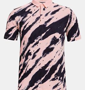 UNDER ARMOUR CURRY Vanish Printed Polo Golf Shirt MEN'S MEDIUM NEW $80