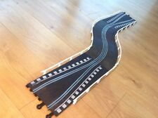 SCALEXTRIC CLASSIC TRACK CHICANE EXTENSION SET PT74 PT77 MINT TESTED + BARRIERS