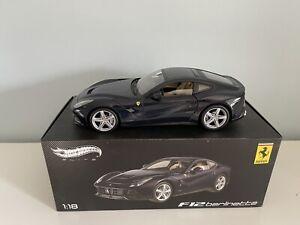 RARE Ferrari F12 Berlinetta 1/18  HotWheels Elite