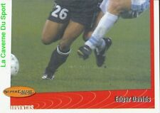 257 EDGAR DAVIDS 2/2 NETHERLANDS JUVENTUS STICKER SUPER CALCIO 2001 PANINI