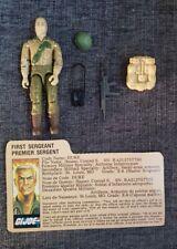 Vintage 1984 GI Joe Duke complete with File Card Mail Away  Mint