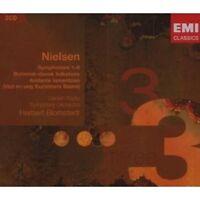 HERBERT BLOMSTEDT/DRSO - SINFONIEN 1-6/+ 3 CD ORCHESTER KLASSIK NEW+ NIELSEN