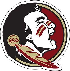"Florida State University Seminole Head 6"" Decal"