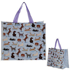 Large Reusable Colourful Womens Foldable Ladie Shopping Hand Tote Folding Bags
