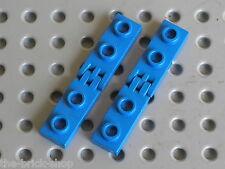 LEGO TECHNIC blue hinge plates 4275b & 4276b / Set 4565 7722 1793 1785 1506 5057