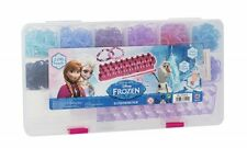 Official Disney Frozen Loom Band Case Rubber 2500 pc Bracelet Making Diy Kit New