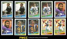 Lot(2) 1988 Topps Football Hi-Grade COMPLETE SET Bo Jackson ROOKIE RC (PWCC)