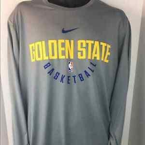 Nike Golden State Warriors Dri-Fit Performance 2XLT Long Sleeve T-Shirt