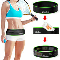Running Belt, Training Workout Belt Sport Exercise Waist Packs Storage Flip Hold